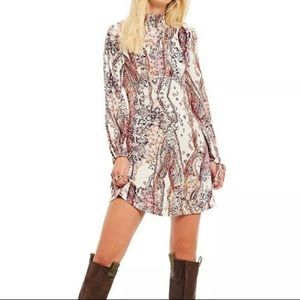 NWT Free People All Dolled Up Dress